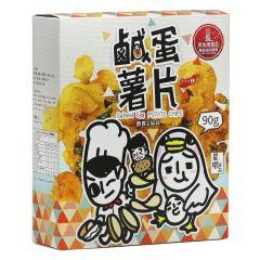 星嚼 - 爵爵&貓叔 - 鹹蛋薯片 (90g) 562874