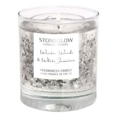 Stoneglow - Winter Woods & White Jasmine Natural Wax Tumbler 杯裝香氛蠟燭 1583-6078