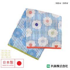 Marushin - 日本今治SOU・SOU緹花織物毛巾 - 白菊 6165001_200-500