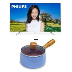Philips - 65吋 超薄LED智能電視 65PUD6683 送手柄鍋 (送完即止) 不包免費安裝