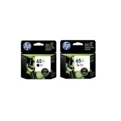 HP - 65xl 原廠高容量墨水盒套裝 (黑色 N9K04AA + 三色 N9K03AA)
