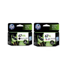HP - 67xxl black genuine 2 box ink set 67bxxltwoset