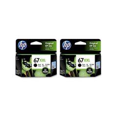 HP - 67xxl black + 67xl color genuine ink set 67xxlset