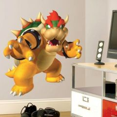 ROOMMATES - Bowser Peel & Stick Giant Wall Decal 684SLM