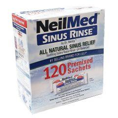 NeilMed 洗鼻沖洗套件全自然緩解配方,120個預混包