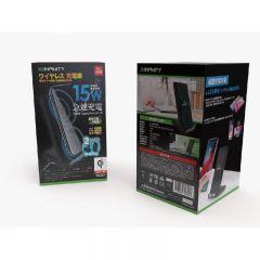 INFINITY INQIV6-BK 15W Qi 無線充電座 723849398243