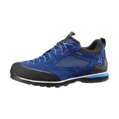 Haglöfs 男裝防水行山鞋-Hurricane Blue/Vibrant Blue