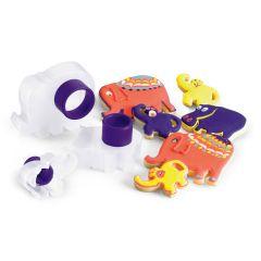 Cuisipro - 扣合式曲奇餅刀模器套件 - 動物園動物