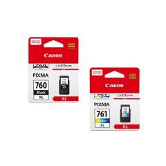 Canon - 760xl + 761xl genuine ink set 760xlset