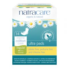 Natracare Ultra Pads with wings (22cm Regular