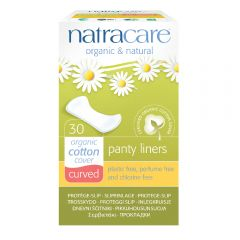 Natracare 有機棉護墊 (16cm 曲線型, 30片裝)