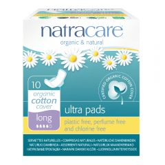 Natracare Ultra Pads with wings (31cm Long