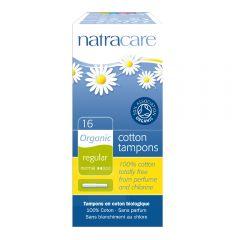 Natracare 有機衛生棉條 (導管標準型, 16條裝)