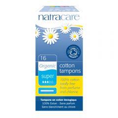 Natracare 有機衛生棉條 (導管量多型, 16條裝)