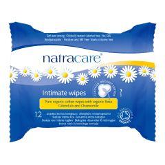 Natracare 有機棉女性衛生濕紙巾 (12片裝)