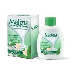 Malizia 意大利-清爽女性潔膚液 綠茶和茉莉-抗菌配方