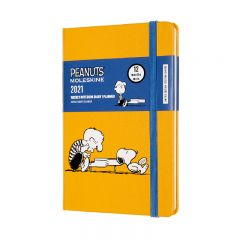 Moleskine 2021 12Month PEANUTS SNOOPY WEEKLY PLANNER NOTEBOOK POCKET PIANO(9 x 14 CM) DPE12WN2Y21
