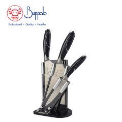 Buffalo - 4Pcs Set Stainless Knife With Acrylic Block set (810048) 810048