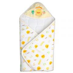 PiYO PiYO 黃色小鴨 - 雙面布印花包巾 81655