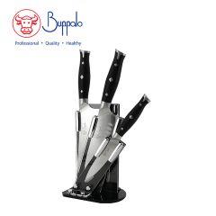 Buffalo - 4Pcs Set Stainless Knife With Acrylic Blockset (820048) 820048