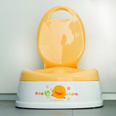 PiYO PiYO 黃色小鴨 - 多功能豪華型便器 83332