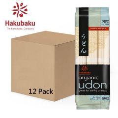 Hakubaku - Organic Udon 270g Full Case (12Pack) 837328000005-12