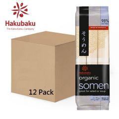 Hakubaku - Organic Somen 270g Full Case (12 Pack) 837328000012-12