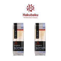 Hakubaku - 日本Hakubaku 有機素麵 270克 2包裝
