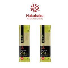 Hakubaku - 日本Hakubaku有機綠茶蕎麥麵 2包裝