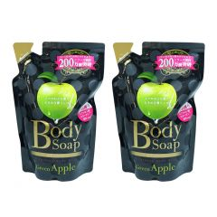 MI BODY - SOAP REFILL 400ML X2 (GREENAPPLE / GRAPEFRUIT) (PARALLEL IMPORT GOOMI BODY DS) MI BODY_ALL