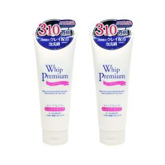WHIP PREMIUM - FACE WASH FOAM WITH CLAY X 2 (PARALLEL IMPORT GOODS) 8871027100415