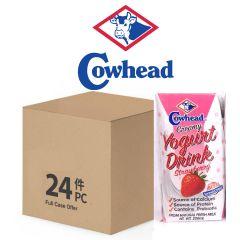 Cowhead - Creamy Yogurt Drink - Strawberry 200ml *24 Full Case Offer 8888440011341-24S
