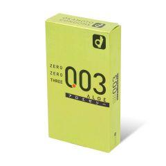 岡本 。零零三 0.03 蘆薈 (日本版) 10 片裝 乳膠安全套 892_Zero