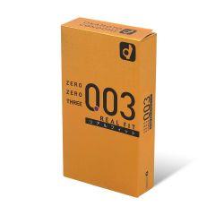 岡本 。零零三 0.03 真‧貼身 (日本版) 10 片裝 乳膠安全套 894_Zero