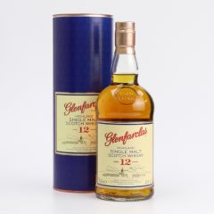Glenfarclas 12 y.o. 700ml x 1 btl (with 1 pc Glencairne Whisky Glass-Stock subject to remaining unsold) 901-21