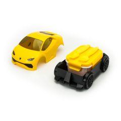 Ridaz x  Lamborghini 林寶堅尼食物盒 -黃色
