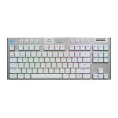 Logitech - G913 TKL LIGHTSPEED Wireless RGB Mechanical Gaming Keyboard (Tactile) (White) 920-009665