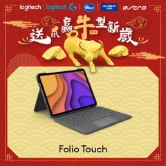 """Logitech - Folio Touch Backlit keyboard case with trackpad for iPad Pro 11"""" (1st & 2nd Gen)  920-009744"""