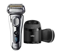Braun Series 9 9297cc Wet & Dry Shaver with Clean & Charge Station(Silver) B01442