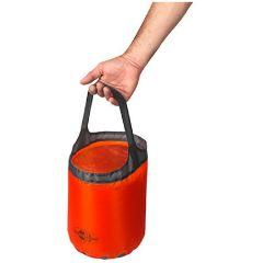 SEA TO SUMMIT 超輕摺疊水涌 Ultra-Sil Folding Bucket 10L-Orange/Black-AUSFB10-10L 9327868028627