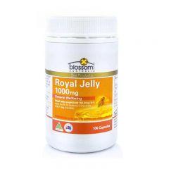 Blossom Health Royal Jelly 1000mg 1.1% 10-HDA100 caps 9337469000045