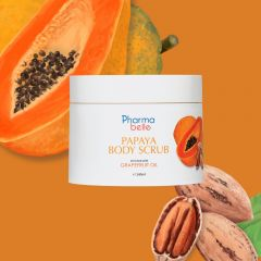 Pharmabelle- Papaya Body Scrub - ezcema