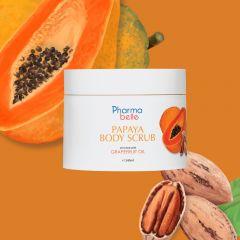 Pharmabelle- Papaya Body Scrub - ezcema