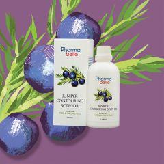 Pharmabelle- Juniper Contouring Body Oil   (depuff) 9369998406401