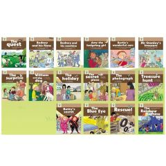 Oxford University Press - Oxford Story Tree - Core & More Stories Level 7 (共16本書) 9780199415120