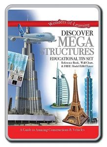 NPP - Wonders Of Learning Discover Mega Structures Educational Tin Set 9781786901224