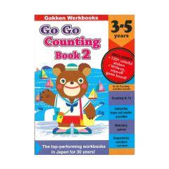 GAKKEN - Go Go Counting 3-5 (Gakken Workbooks) 9784056300277