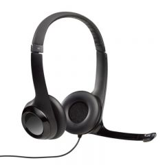 Logitech - H390 USB Headset with Noise-Cancelling Mic 981-000485