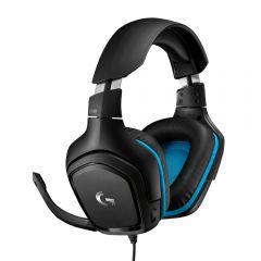Logitech - G431 7.1 Surround Sound Gaming Headset 981-000774