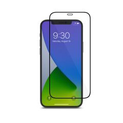 Moshi - AirFoil Pro for iPhone 12/12 Pro - Black (Clear/Glossy)